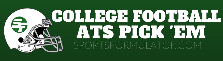 College Football ATS Pick 'Em Contest