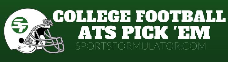 College Football ATS Pick 'Em Contest