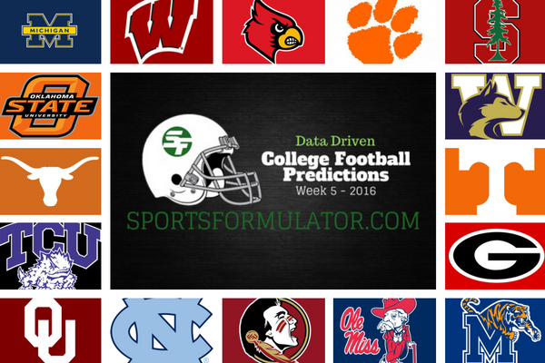 college-football-predictions-2016-week-5