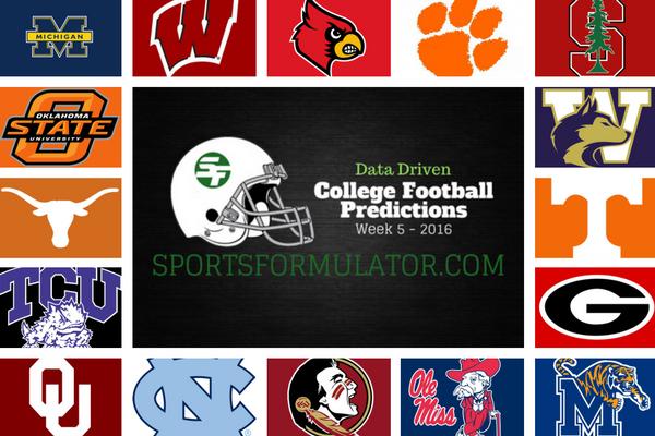 college-football-predictions-2016-week-5