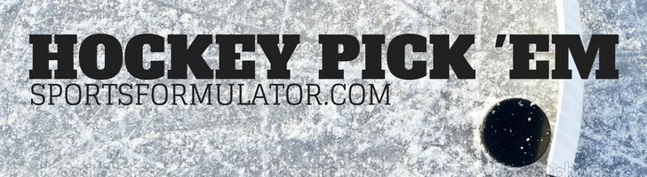 Hockey Pick 'Em Contest