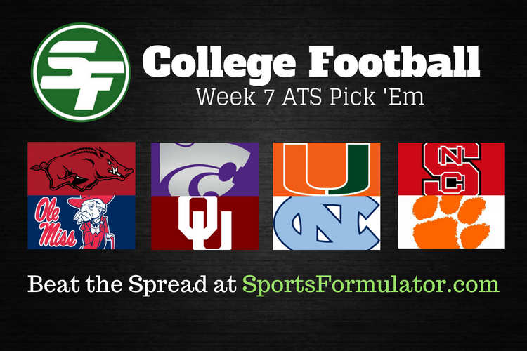 college-football-ats-pick-em-week-7