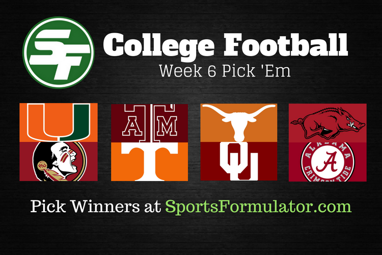 college-football-pick-em-week-6-2016