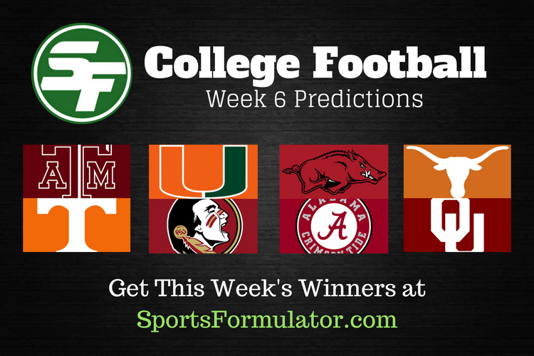 college-football-predictions-week-6-2016