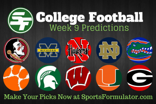 college-football-predictions-week-9-2016