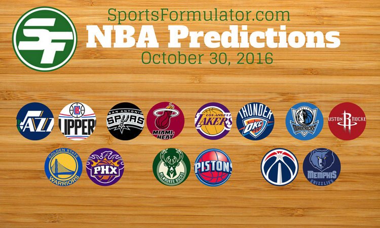 nba-predictions-october-30-2016